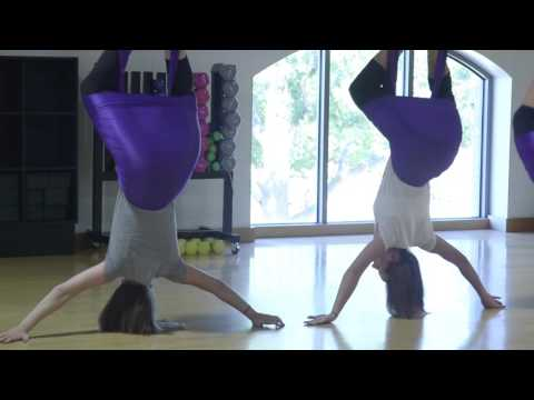 AntiGravity Aerial Yoga at The Sports Club at Four Seasons