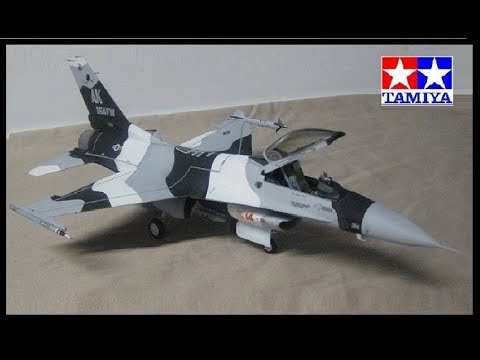 Tamiya 1/48 F-16 Aggressor/Adversary Full Build -Time Lapse