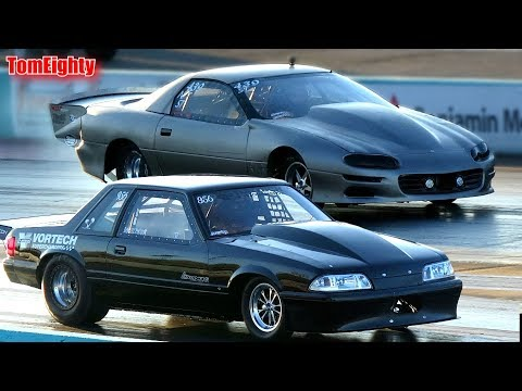Street Outlaws Small Tire Race - No Prep Kings Texas