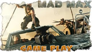 A Look at The Interceptor Vehicle and Free Roam Mad Max Gameplay.