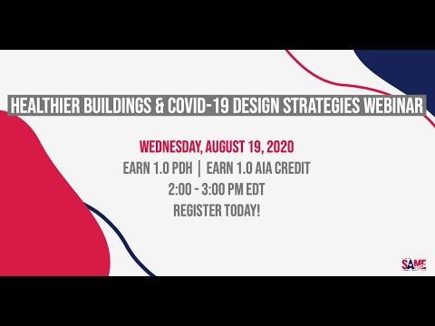 Healthier Buildings COVID 19 Design Strategies