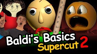Annoying Orange - Baldi's Basics Supercut #2: Driving Baldi Crazy!