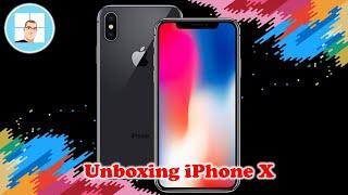 Unboxing iPhone X