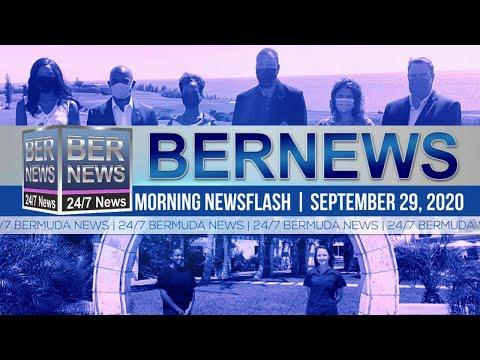 Bermuda Newsflash For Tuesday, Sept 29, 2020