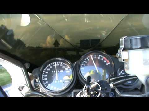 Acceleration FZR-600R 0-250 KM/H