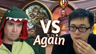 (Hearthstone) Kibler VS Amaz: Midrange Hunter VS Quest Mage
