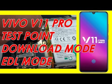 VIVO V11 PRO TEST POINT | EDL MODE - YouTube