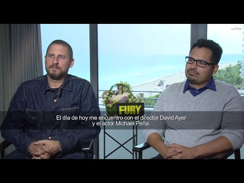 Fury - Interview with Michael Pena and Director David Ayer