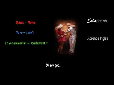 Learn Spanish with Songs Ay Mi Dios  - Yandel Ft Pitbull con Letra Lyrics Translation