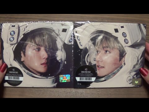 Unboxing EXO 엑소 Winter Special Album Sing For You (Korean & Chinese 백현 Version)