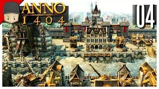 Anno 1404 Venice - Ep.04 : Walls & Towers!