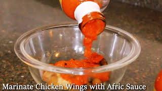 Afric Sauce Chicken Wings