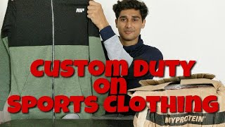 Unboxing Myprotein Hoodies & Custom Rates on Sports Clothing