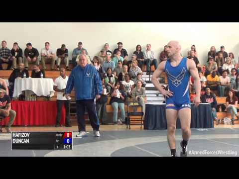 59 kg, Ildar Hafizov, Army vs Randy Duncan, Air Force