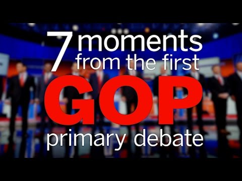 7 top moments from the Republican presidential debate