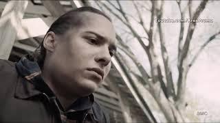 Смерть Ника Кларка,момент из сериала Бойтесь Ходячих Мертвецов.