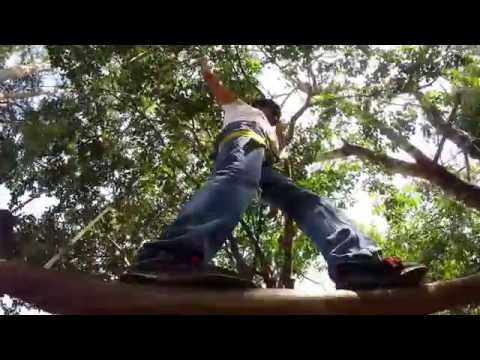Medtronic Bangalore's adventure team outing at Camp Extremezone: GoPro