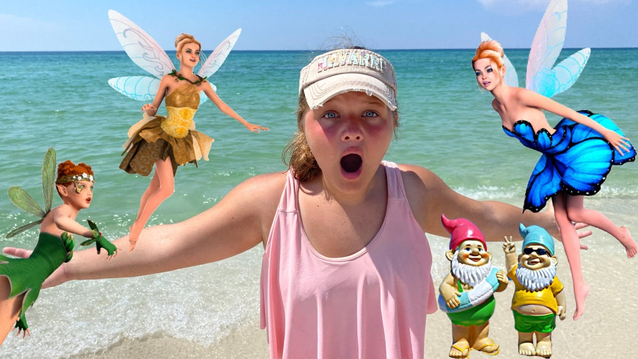 FAIRIES at THE BEACH PART 2!
