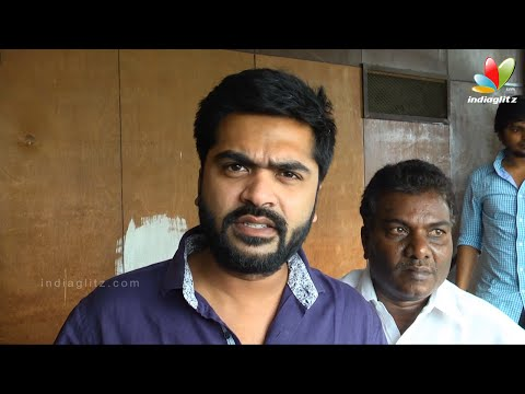 Simbu watching Vaalu First Day First Show | Fans Celebration at Kasi Theatre