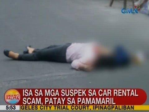 UB: Isa sa mga suspek sa car rental scam, patay sa pamamaril sa Sta. Rosa, Laguna