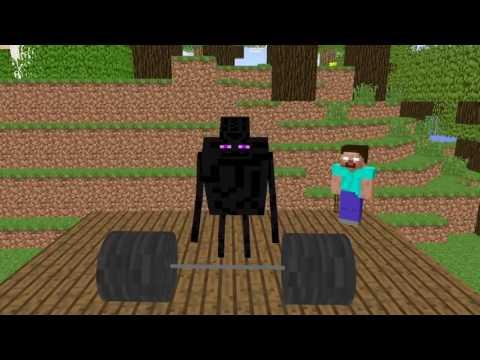 Minecraft Школа Мобов   Школьная Жизнь Монстров в Майнкрафт Майнкрафт Анимация