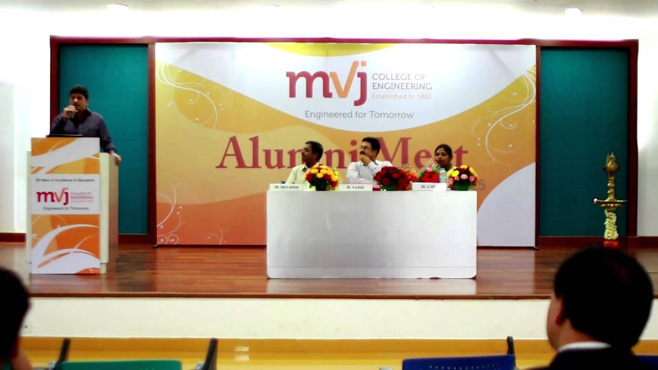 speech about alumni meet