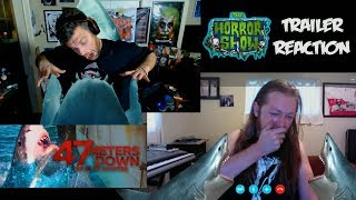 """47 Meters Down: The Next Chapter"" Horror Movie Sequel Teaser Trailer Reaction - The Horror Show"
