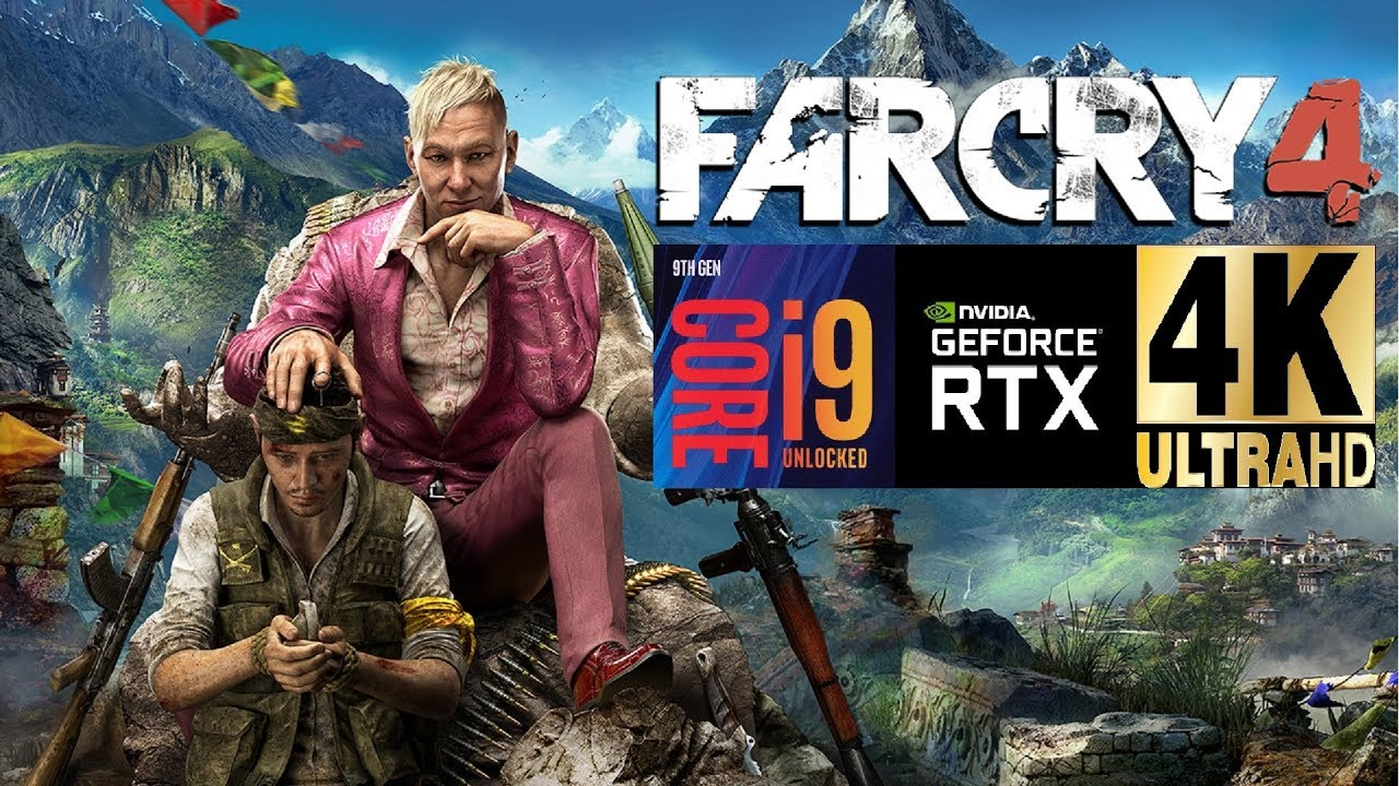 i9 9900K @5.1ghz/RTX 2080TI AMP/Far Cry 4/ULTRA! 4K