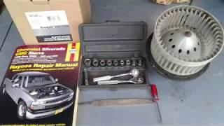Silverado Heater A/C Blower Motor Not Working