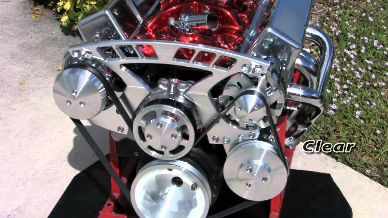 Chevy Small & Big Block Pro Track 2 Serpentine Drive Kit  YouTube