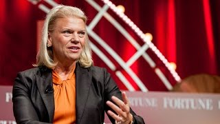 What IBM CEO Ginni Rometty thinks about the Dell-EMC merger
