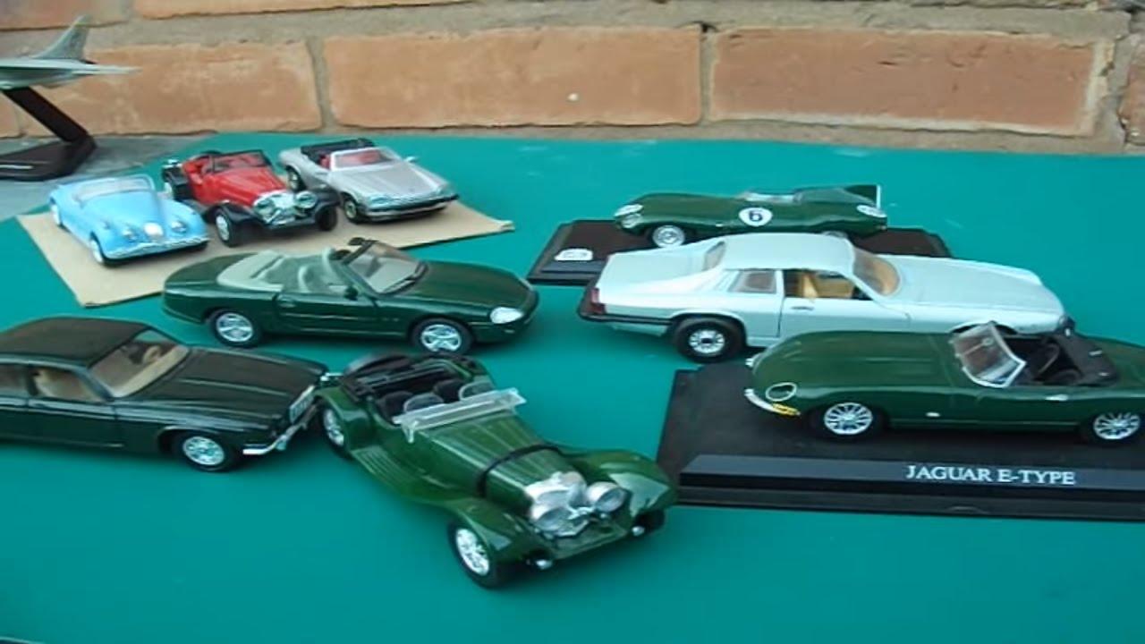 Jaguar model cars 1:43 scale review xk8 ss100 xjs e type various ...