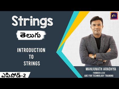 introduction-to-strings-in-java-telugu- -string-programs-in-java- -java-tutorial-for-beginners- -abc