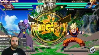 Bajheera - DBFZ: INSANE 0.1% HP GOKU COMEBACK - Dragon Ball FighterZ [PC] Ranked PvP