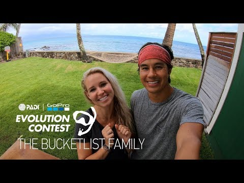 Video Of The Week | PADI | GoPro CAPTURE+EDIT Evolution Contest - The Bucket List Family