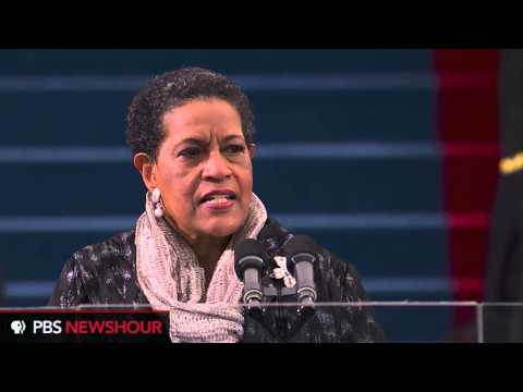 Myrlie Evers-Williams Delivers Invocation for President Obama