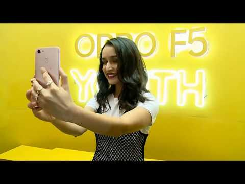 Shraddha Kapoor at OPPO F5 YOUTH launch event | #CatchTheRealYou