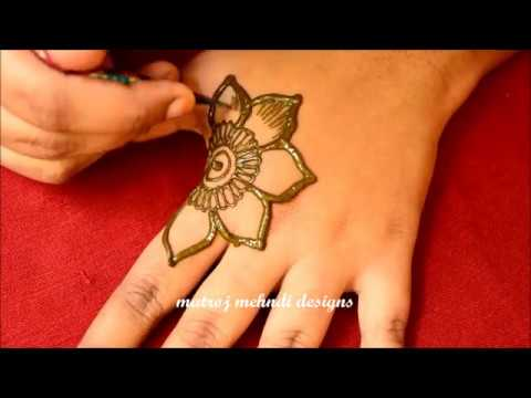 Simple Easy Mehndi Design For Hands for Eid 2018,Simple Arabic Mehndi  Design for Hands for Eid,2