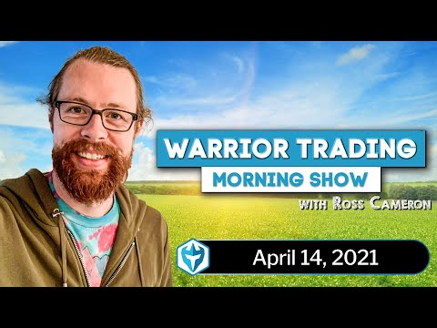 Coinbase (NASDAQ: COIN) IPO DAY - LIVE Day Trading Morning Show - with Ross Cameron