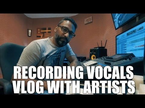 Recording studio - How to get the best out of the artist (Vlog)