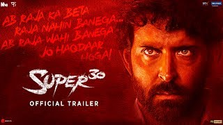Super 30 Official Trailer Hrithik Roshan Vikas Bahl July 12