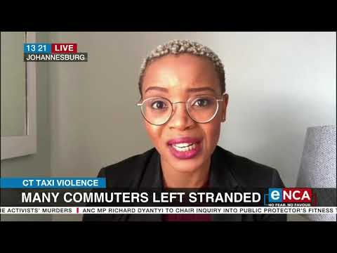 Discussion | Cape Town commuters left stranded