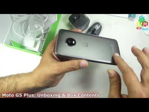Moto G5 Plus Unboxing & Box Contents: Lenovo break rules in Shipping...