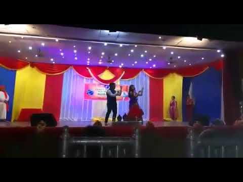 Kannada rajyotsava-2017  in dar es salaam.. Couple dance