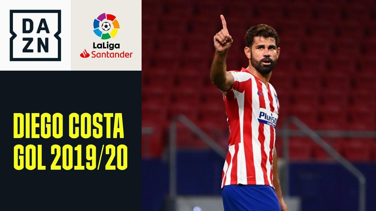 LaLiga 2019/20: tutti i gol di Diego Costa con l'Atletico Madrid