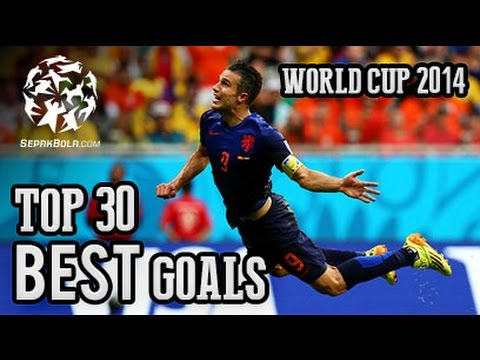 Top 30 Goals world Cup 2014