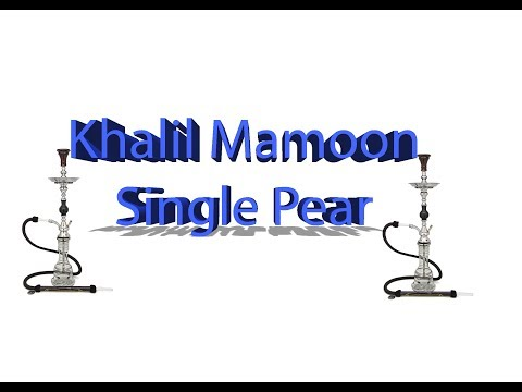 Best Value KM? Check out the Khalil Mamoon Single Pear