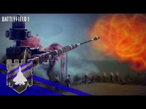 Battlefield 1 Reveal Trailer Recreated in BESIEGE v 0.27 | Theater of Flights #36