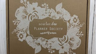 Planner Society Unboxing\\June 2018