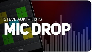 Playing MIC DROP | Steve Aoki ft. BTS on SUPER PADS LIGHTS - KIT BUNGEE